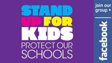 Stand Up For Kids - Protect Our Schools